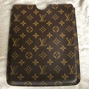 Louis Vuitton iPad sleeve/ case